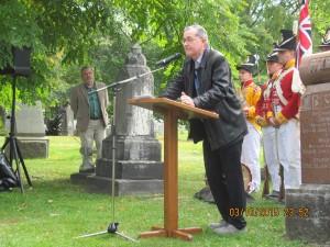Dr. Bruce Elliott, Carleton University professor of History.