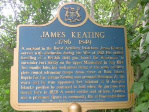 James Keating, Royal Artillery