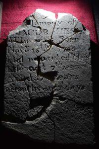 Jacob Hess tombstone